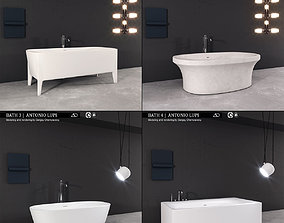 3D model Bath collection Antonio Lupi