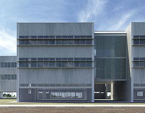 Office building - High-tech university 3D model