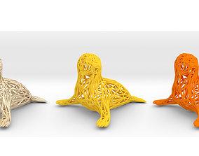 Baby seal 3D print model