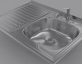 3D Sink and Fuacet