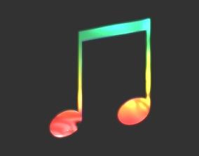 Music symbol 3D