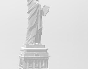 Statue of Liberty sculpture 3D printable model
