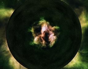 3D model Nebula Space Environment HDRI Map 007