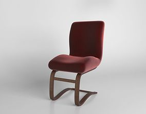 Red Chair 3D chair
