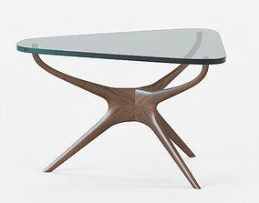 sculpted 3D Sculpted End Table by Vladimir Kagan