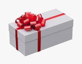 3D model Christmas gift box 05