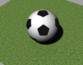 football 3D print model toys