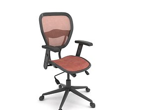 3D model Ergomatic Adjustable Office Chair