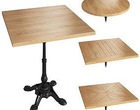One Leg Loft Table 3D