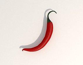 3D Pepper Chilli