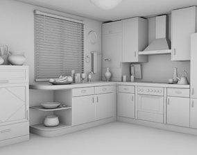 rehman KItchen interior 3D