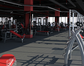 Big Fitness Gym gym 3D