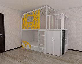 Bunk bed Gossamer 3D