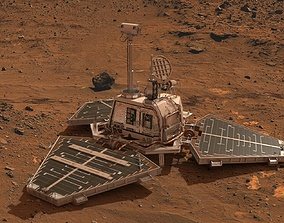 Pathfinder Mars Nasa 3D