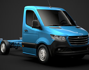 Freightliner Sprinter Chassis Single Cab L1 FWD 3D model