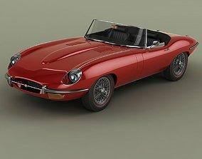 Jaguar E-Type Series 2 Convertible 3D