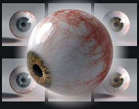 Photorealistic eyes pack 3D asset