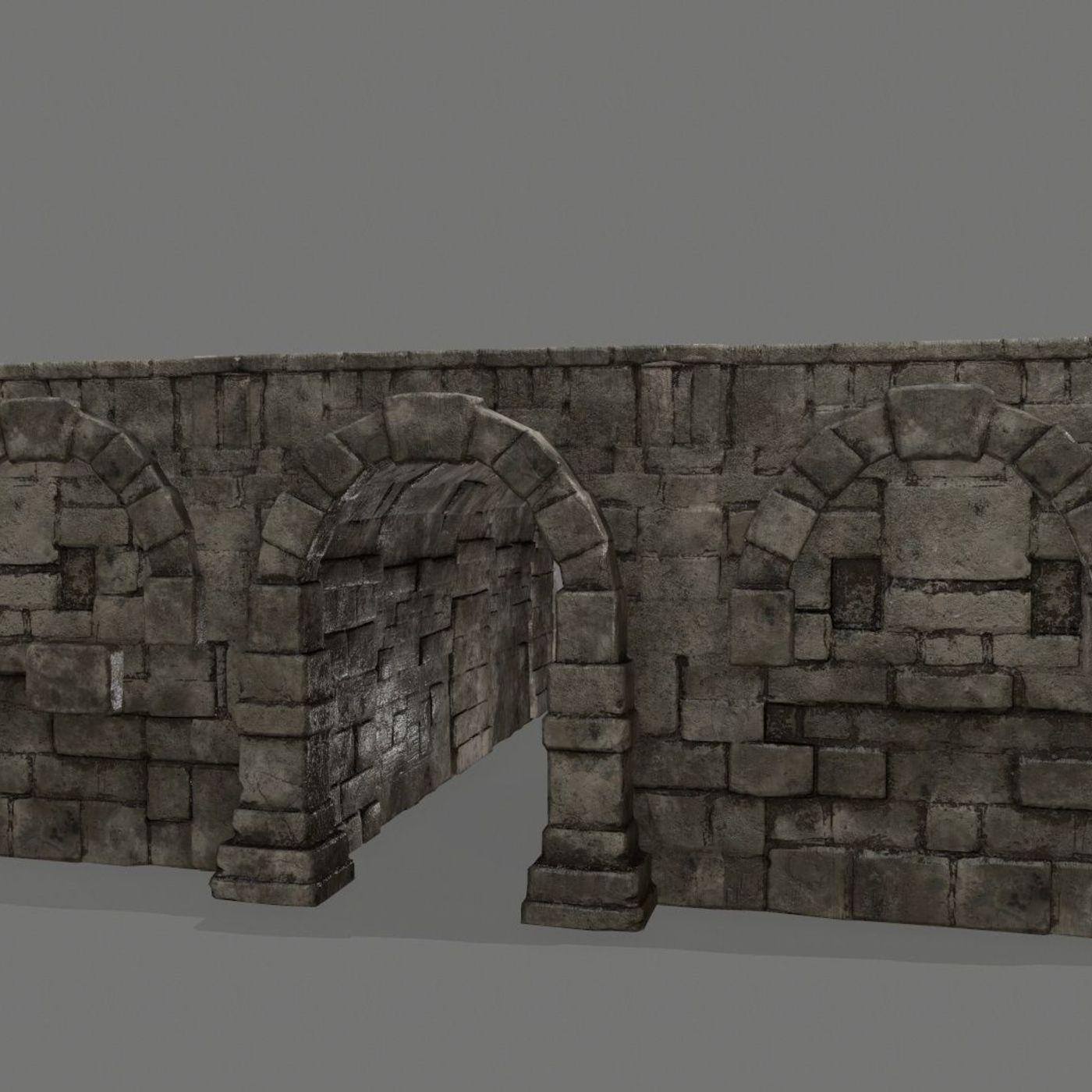 old ruin set