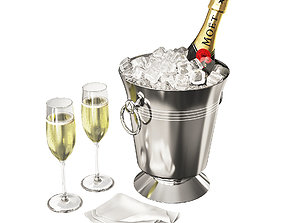 3D model Champagne