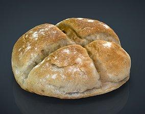 3D asset Round Loaf