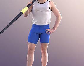 Robb 10724 - Standing Rower 3D model