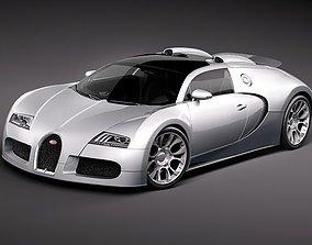 3D model bugatti veyron gt 2010