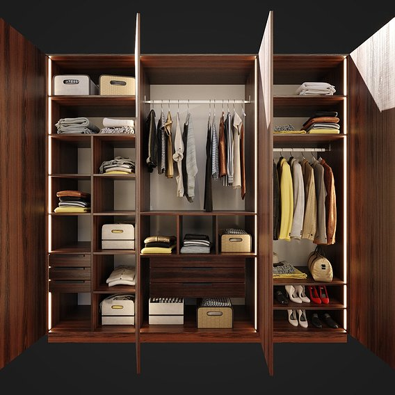 Furniture Wardrobe 001