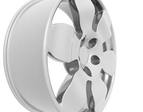 alloy Wheel Rim 3D model