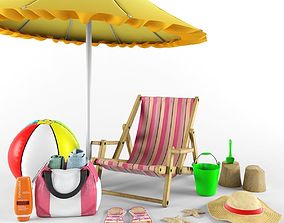 Beach collection 3D