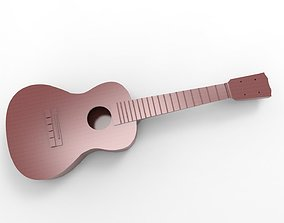 3D printable model guitar 3dprint