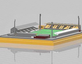 Cambridge United - Abbey Stadium 3D print model