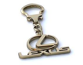 3D print model Lexus Keychain BF020