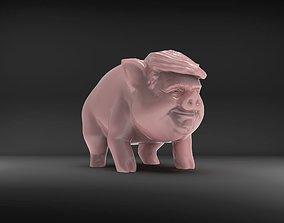 3D printable model Trump Pig