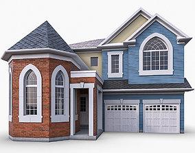 3D model Cottage House 07