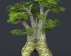 Low Poly Tree 03 3D model
