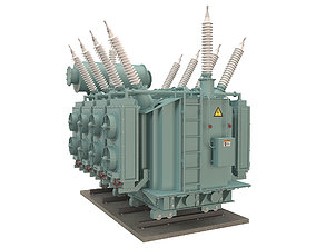 engineering 3D Electrical Transformer 4