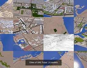 Cities of UAE Dubai 3D model