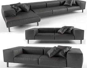 Sofa SCIGHERA realistic 3D model