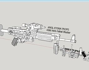 3D print model A280 Hoth Rebel Blaster from Star Wars 3