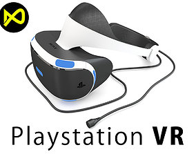 Sony Playstation VR 2016 Headset 3D model