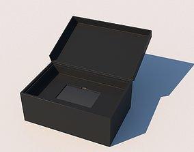 Holder box for card 3D asset