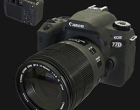 Camera Canon Eos 77d 3D model