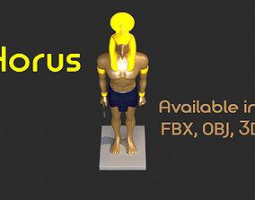 3D asset Horus