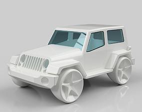 Jeep Wrangler 3D printable model