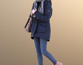 Lisa 10725 - Walking Outdoor Girl 3D model