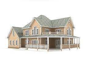 3D model Cottage 77