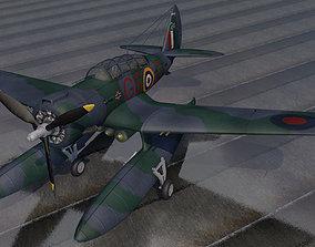 Northrop N-3PB Nomad - RAF 3D model