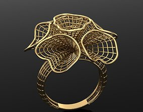 fusion gold ring 3D printable model