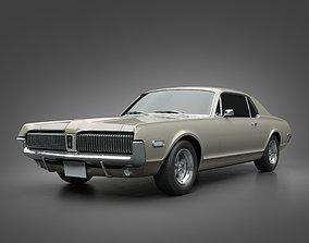 1968 Mercury Cougar 3D model