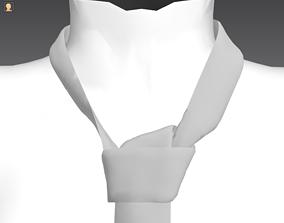 tie small knot marvelous garment 3D model